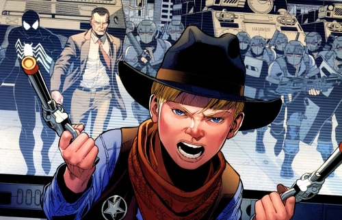 FF Dark Reign Franklin Richards